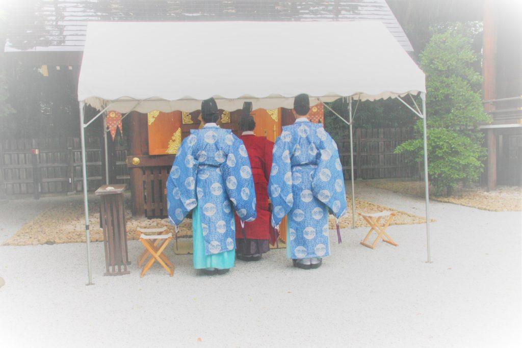 八重垣祭を斎行いたしました。